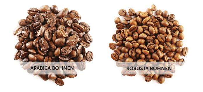 Kaffeebohnen: Arabica vs. Robusta