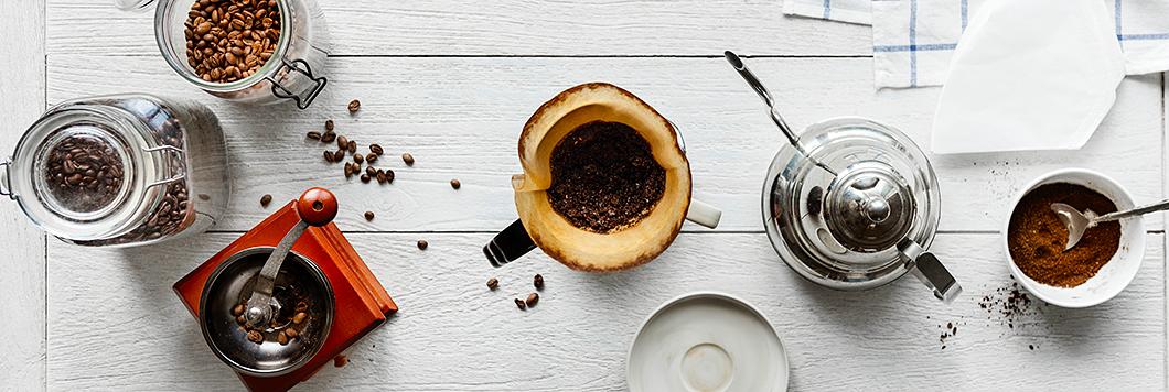 Die Filterkaffeezubereitung