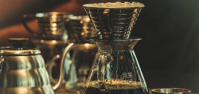 zubereitung von filterkaffee