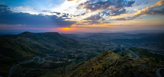kaffee landschaft äthiopien