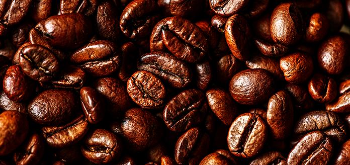 geschmack von geröstetem kaffee