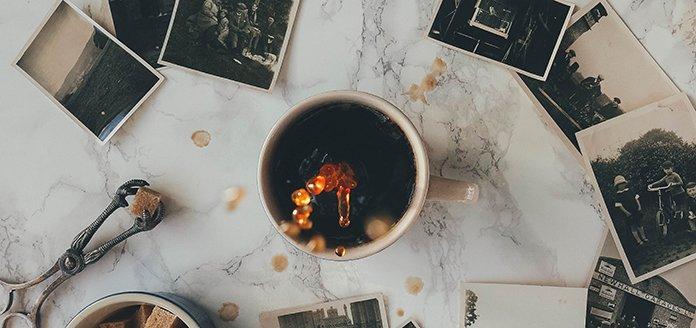 alte kaffeefotos