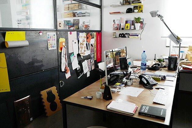 Im Moak-Designbüro