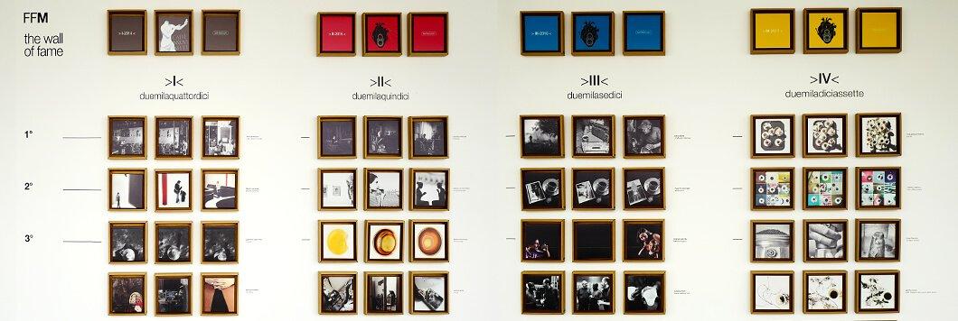 Die 'Wall of Fame' – die Gewinner des Fotowettbewerbs 'Fuori Fuoco'