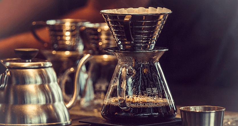 Filterkaffeezubereitung