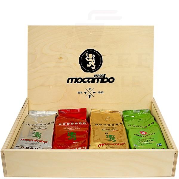Mocambo Geschenkbox, 4 x 250 g Bohne