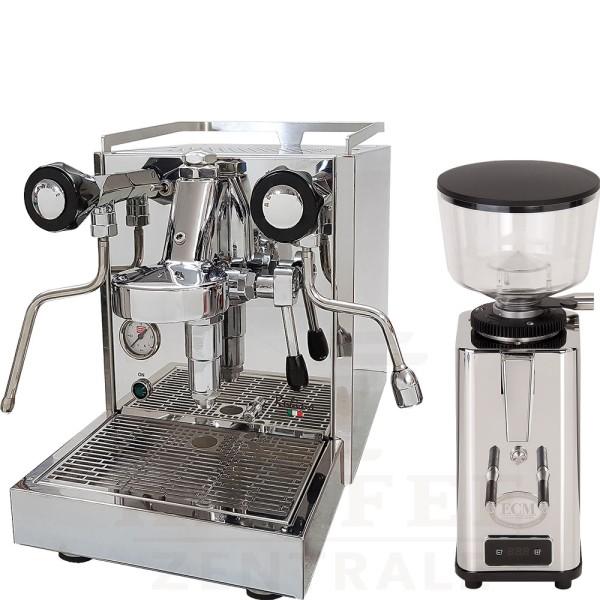 Quickmill 0981 Rubino + ECM Mühle S-64 Automatik
