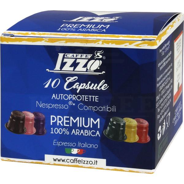 Izzo Premium 100 % Arabica, 10 Kapseln NES