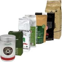 KAZ Espresso Kaffee Probierpaket BIO / FAIR, Bohne