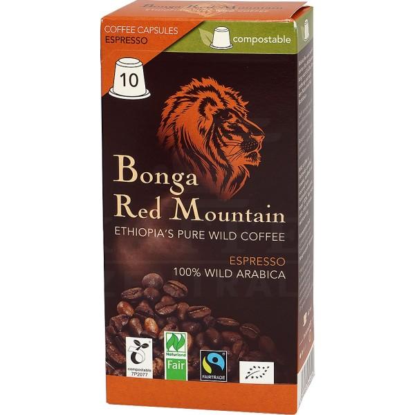Bonga Red Mountain BIO, 10 Kapseln NES