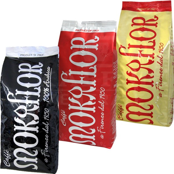 Mokaflor Starterpaket, Bohne 3 x 1 kg