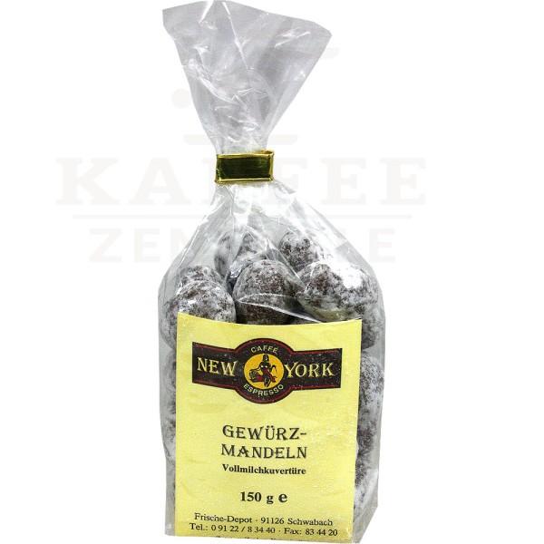 New York Gewürz-Mandel, 150 g Tüte