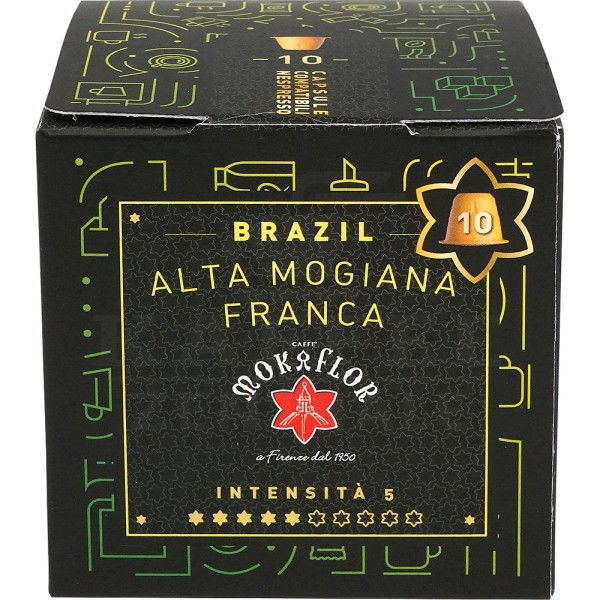 Mokaflor Brazil Alta Mogiana, 10 Kapseln NES