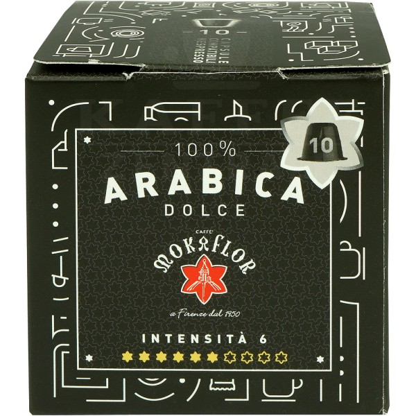 Mokaflor Arabica Dolce, 10 Kapseln NES