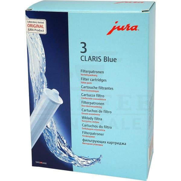 JURA Claris BLUE, 3er Pack