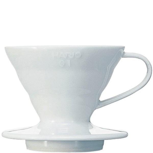 Hario V60 Dripper, Keramik weiß