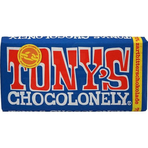 Tony's Zartbitterschokolade 70%, 180 g