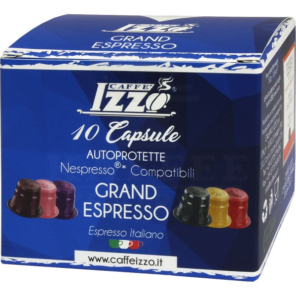 Izzo Grand Espresso, 10 Kapseln NES