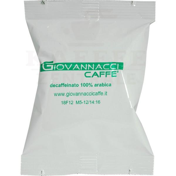 Giovannacci Decaffeinato, Kapseln NES