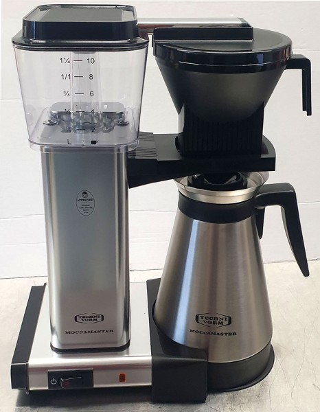 Moccamaster KBGT, Thermo poliert *B-WARE*