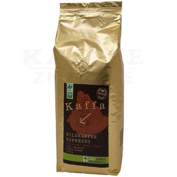 Kaffa BIO Espresso, Bohne