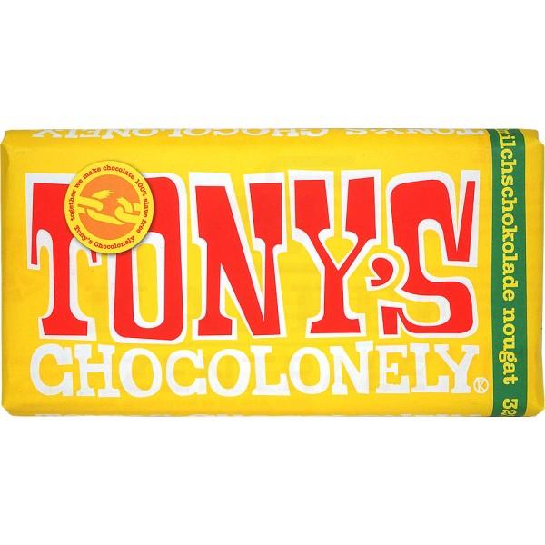 Tony's Nougat Vollmilchschokolade 32 %, 180 g