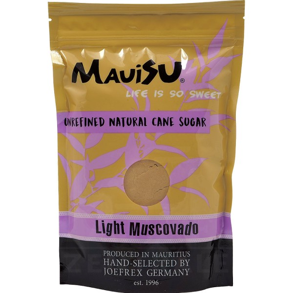 MauiSU Light Muscovado, 500 g