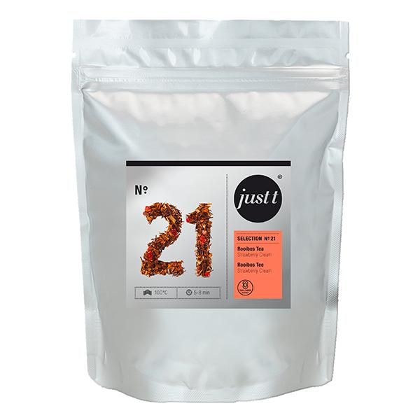 just t Rooibostee (UTZ) Strawberry Cream, 150gBeutel