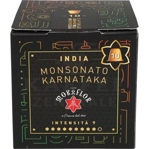 Mokaflor India Monsooned, 10 Kapseln NES
