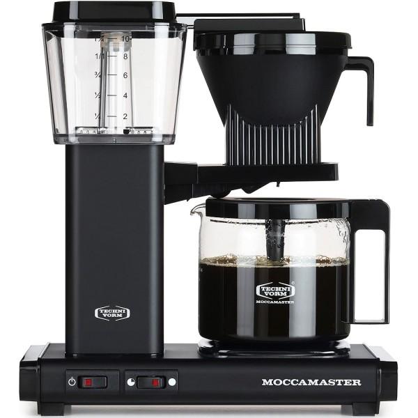 Moccamaster KBG 741 AO Filterkaffeemaschine, matt schwarz