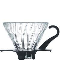 Hario V60 Dripper, Glas schwarz