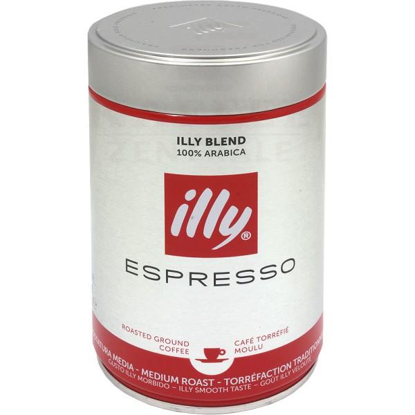 Illycaffè Röstung N, gemahlen 250 g
