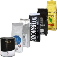 KAZ Espresso Kaffee Probierpaket MILD, Bohne