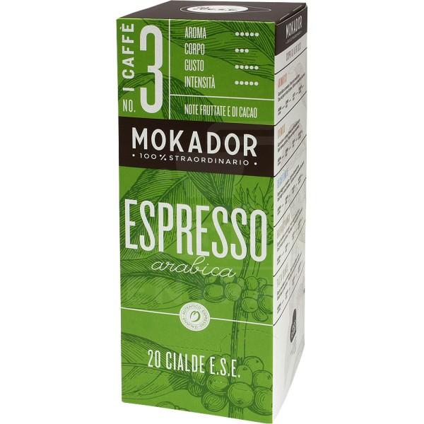 Mokador 100 % Arabica, Pads