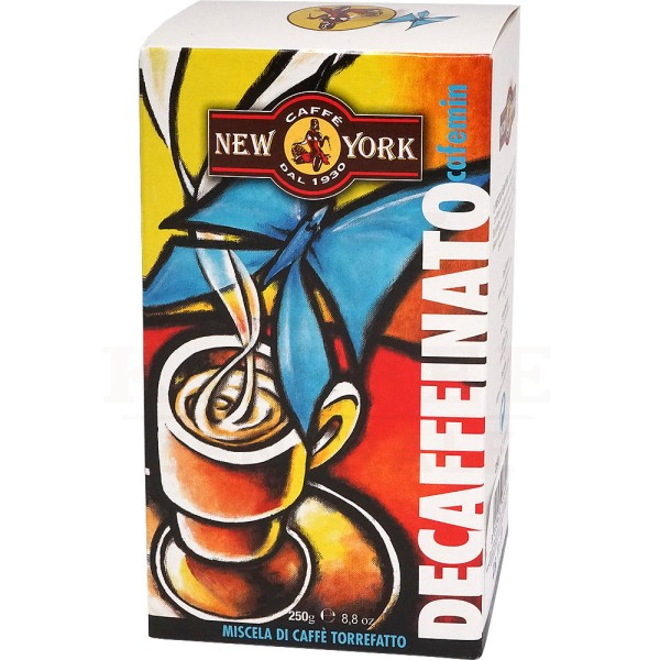 New York Decaffeinato, gemahlen 250 g