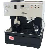 Quick Mill 0835 Retro Espressomaschine, schwarz