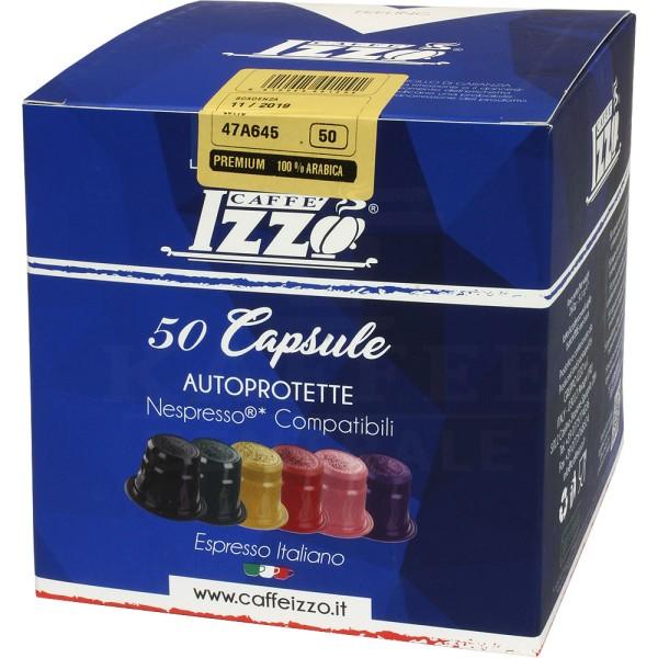 Izzo Premium 100 % Arabica, 50 Kapseln NES