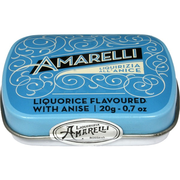 AM06 Amarelli Lakritzpastillen mit Anis