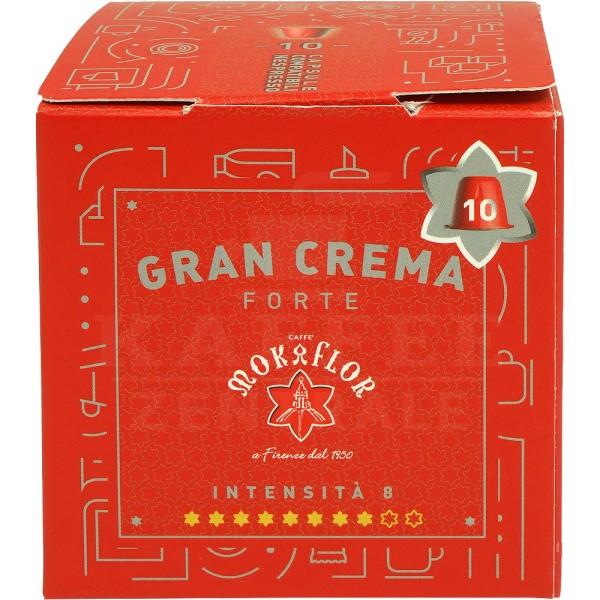Mokaflor GranCrema, 10 Kapseln NES