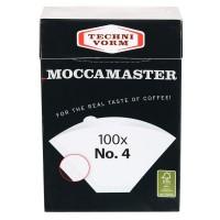 Moccamaster Filtertüten Nr. 4, 100 Stück (85022)