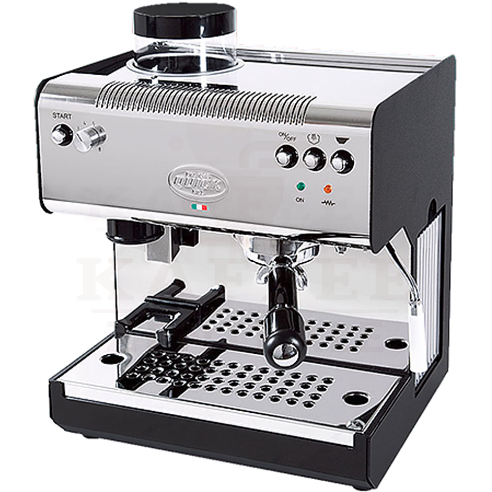 quick mill 2835 espressomaschine inox schwarz kaffeezentrale de gmbh. Black Bedroom Furniture Sets. Home Design Ideas