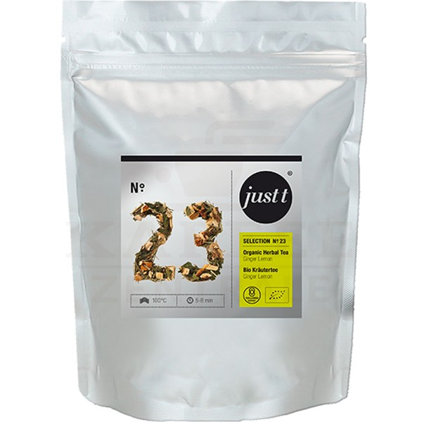 just t Bio Kräutertee Ginger Lemon, 140 g Beutel