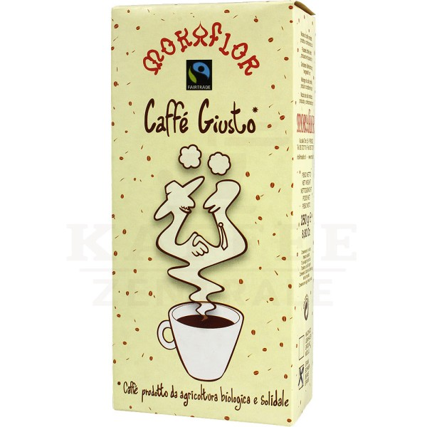 Mokaflor Caffè Giusto BIO, Bohne 250 g