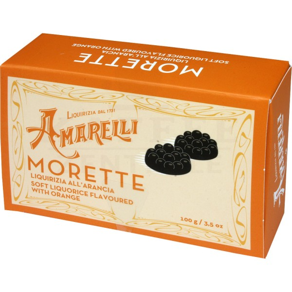 Amarelli weiches Lakritz Orange, 100 g