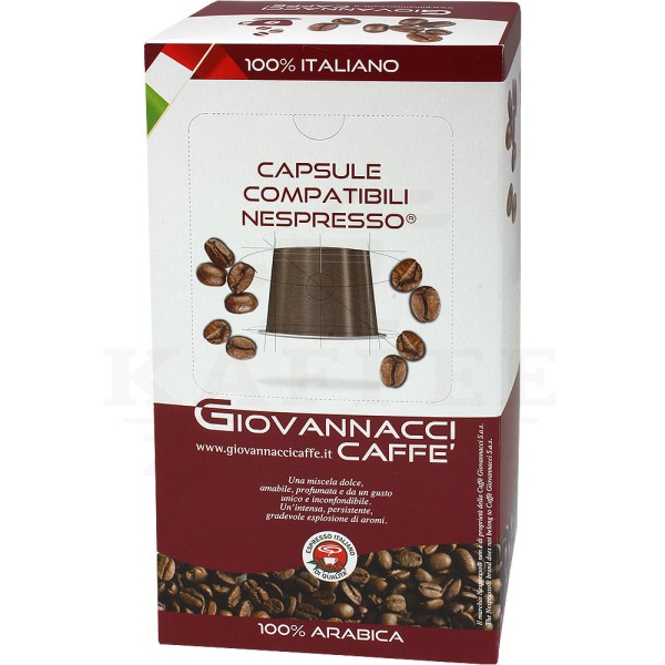 Giovannacci Gran Caffè, Kapseln NES