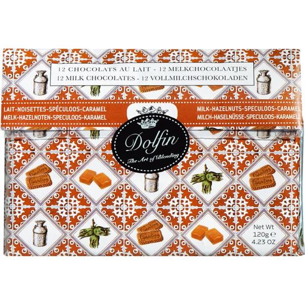 Dolfin Vollmilch-Sortiment 12x10g