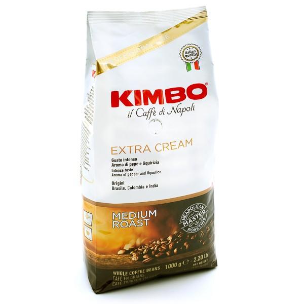 Kimbo Extra Cream, Bohne 1kg