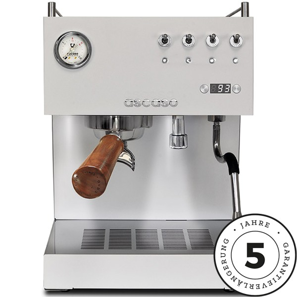 Ascaso Steel Duo PID, Espressomaschine weiß