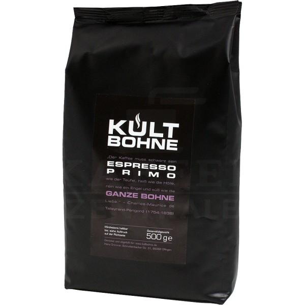 Kultbohne Espresso Primo, Bohne 500 g