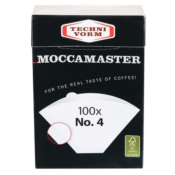 Moccamaster Filtertüten Nr. 4, 100 Stück
